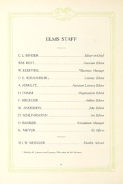 Page 10, 1922 Edition, Elmhurst College - Elms Yearbook (Elmhurst, IL) online yearbook collection