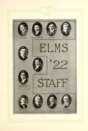 Page 11, 1922 Edition, Elmhurst College - Elms Yearbook (Elmhurst, IL) online yearbook collection