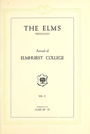 Page 5, 1922 Edition, Elmhurst College - Elms Yearbook (Elmhurst, IL) online yearbook collection