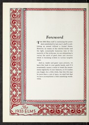 Page 6, 1933 Edition, Elmhurst College - Elms Yearbook (Elmhurst, IL) online yearbook collection