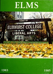 Page 1, 1984 Edition, Elmhurst College - Elms Yearbook (Elmhurst, IL) online yearbook collection