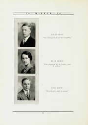 Page 14, 1930 Edition, North Shore Country Day School - Mirror Yearbook (Winnetka, IL) online yearbook collection