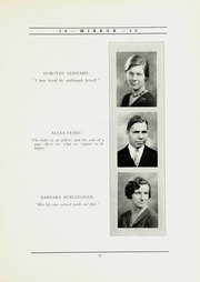 Page 15, 1930 Edition, North Shore Country Day School - Mirror Yearbook (Winnetka, IL) online yearbook collection