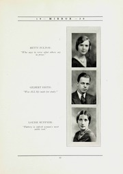 Page 17, 1930 Edition, North Shore Country Day School - Mirror Yearbook (Winnetka, IL) online yearbook collection