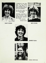 Page 11, 1983 Edition, North Shore Country Day School - Mirror Yearbook (Winnetka, IL) online yearbook collection