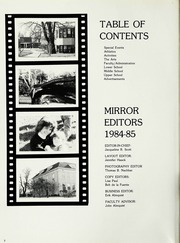 Page 6, 1985 Edition, North Shore Country Day School - Mirror Yearbook (Winnetka, IL) online yearbook collection
