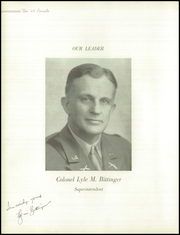 Page 12, 1944 Edition, Onarga Military School - Parade Yearbook (Onarga, IL) online yearbook collection