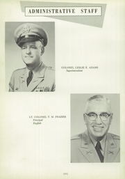 Page 10, 1956 Edition, Onarga Military School - Parade Yearbook (Onarga, IL) online yearbook collection