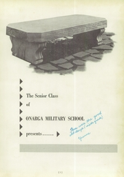 Page 5, 1956 Edition, Onarga Military School - Parade Yearbook (Onarga, IL) online yearbook collection
