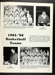 Page 17, 1982 Edition, Marshall Junior High School - Cub Yearbook (Marshall, IL) online yearbook collection
