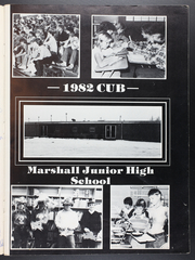 Page 3, 1982 Edition, Marshall Junior High School - Cub Yearbook (Marshall, IL) online yearbook collection