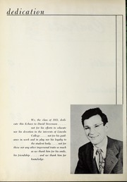 Page 6, 1951 Edition, Lincoln College - Lynxite Yearbook (Lincoln, IL) online yearbook collection
