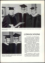 Page 13, 1967 Edition, Lincoln College - Lynxite Yearbook (Lincoln, IL) online yearbook collection