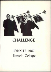 Page 7, 1967 Edition, Lincoln College - Lynxite Yearbook (Lincoln, IL) online yearbook collection