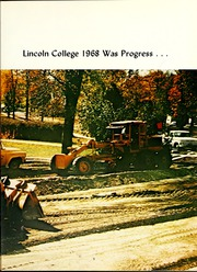 Page 9, 1968 Edition, Lincoln College - Lynxite Yearbook (Lincoln, IL) online yearbook collection