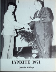 Page 5, 1971 Edition, Lincoln College - Lynxite Yearbook (Lincoln, IL) online yearbook collection