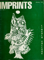 1973 Edition, Lincoln College - Lynxite Yearbook (Lincoln, IL)