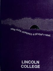 Page 1, 1979 Edition, Lincoln College - Lynxite Yearbook (Lincoln, IL) online yearbook collection