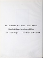 Page 6, 1979 Edition, Lincoln College - Lynxite Yearbook (Lincoln, IL) online yearbook collection