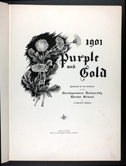 Page 11, 1901 Edition, Northwestern University Dental School - Purple and Gold Yearbook (Evanston, IL) online yearbook collection
