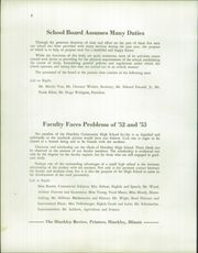Page 12, 1953 Edition, Hinckley High School - Echoes Yearbook (Hinckley, IL) online yearbook collection
