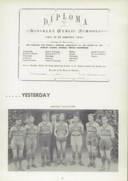 Page 9, 1954 Edition, Hinckley High School - Echoes Yearbook (Hinckley, IL) online yearbook collection
