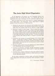 Page 9, 1936 Edition, Champaign Junior High School - Retro Yearbook (Champaign, IL) online yearbook collection