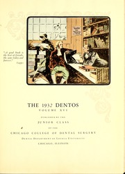 Page 7, 1932 Edition, Chicago College of Dental Surgery - Dentos Yearbook (Chicago, IL) online yearbook collection