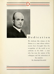 Page 12, 1935 Edition, Chicago College of Dental Surgery - Dentos Yearbook (Chicago, IL) online yearbook collection