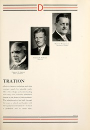 Page 17, 1935 Edition, Chicago College of Dental Surgery - Dentos Yearbook (Chicago, IL) online yearbook collection
