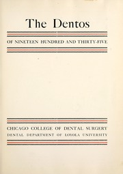 Page 7, 1935 Edition, Chicago College of Dental Surgery - Dentos Yearbook (Chicago, IL) online yearbook collection