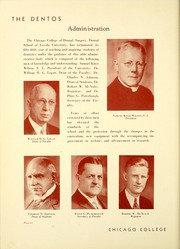 Page 16, 1938 Edition, Chicago College of Dental Surgery - Dentos Yearbook (Chicago, IL) online yearbook collection