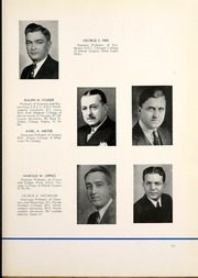 Page 15, 1942 Edition, Chicago College of Dental Surgery - Dentos Yearbook (Chicago, IL) online yearbook collection