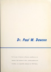 Page 9, 1942 Edition, Chicago College of Dental Surgery - Dentos Yearbook (Chicago, IL) online yearbook collection