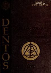 1979 Edition, Chicago College of Dental Surgery - Dentos Yearbook (Chicago, IL)