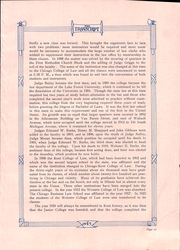 Page 15, 1925 Edition, IIT Chicago Kent College of Law - Transcript Yearbook (Chicago, IL) online yearbook collection