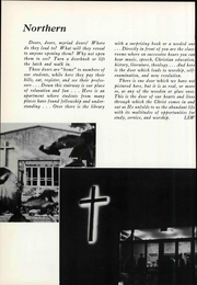 Page 8, 1961 Edition, Northern Baptist Theological Seminary - Yearbook (Lombard, IL) online yearbook collection