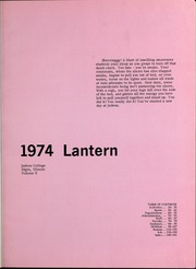 Page 5, 1974 Edition, Judson University - Lantern Yearbook (Elgin, IL) online yearbook collection
