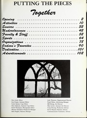 Page 5, 1988 Edition, Judson University - Lantern Yearbook (Elgin, IL) online yearbook collection