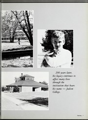 Page 7, 1988 Edition, Judson University - Lantern Yearbook (Elgin, IL) online yearbook collection