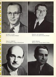 Page 11, 1959 Edition, Roosevelt University - Vanguard Yearbook (Chicago, IL) online yearbook collection
