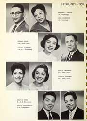 Page 14, 1959 Edition, Roosevelt University - Vanguard Yearbook (Chicago, IL) online yearbook collection