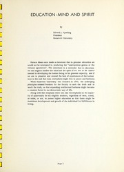 Page 7, 1959 Edition, Roosevelt University - Vanguard Yearbook (Chicago, IL) online yearbook collection