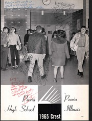 Page 5, 1965 Edition, Peoria High School - Crest Yearbook (Peoria, IL) online yearbook collection