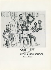 Page 5, 1977 Edition, Peoria High School - Crest Yearbook (Peoria, IL) online yearbook collection