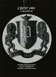 Page 5, 1981 Edition, Peoria High School - Crest Yearbook (Peoria, IL) online yearbook collection