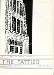 Page 7, 1939 Edition, PJ Jacobs High School - Tattler Yearbook (Stevens Point, WI) online yearbook collection