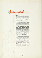Page 10, 1941 Edition, PJ Jacobs High School - Tattler Yearbook (Stevens Point, WI) online yearbook collection