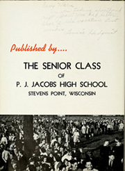 Page 8, 1941 Edition, PJ Jacobs High School - Tattler Yearbook (Stevens Point, WI) online yearbook collection