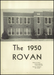 Page 6, 1950 Edition, Rova High School - Rovan Yearbook (Oneida, IL) online yearbook collection